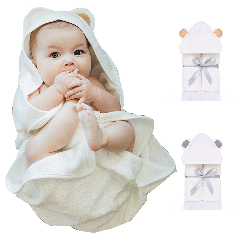 Высококачественные детские полотенца с капюшоном и стирка-органическое бамбуковое детское полотенце с капюшоном, очень мягкое и плотное д...