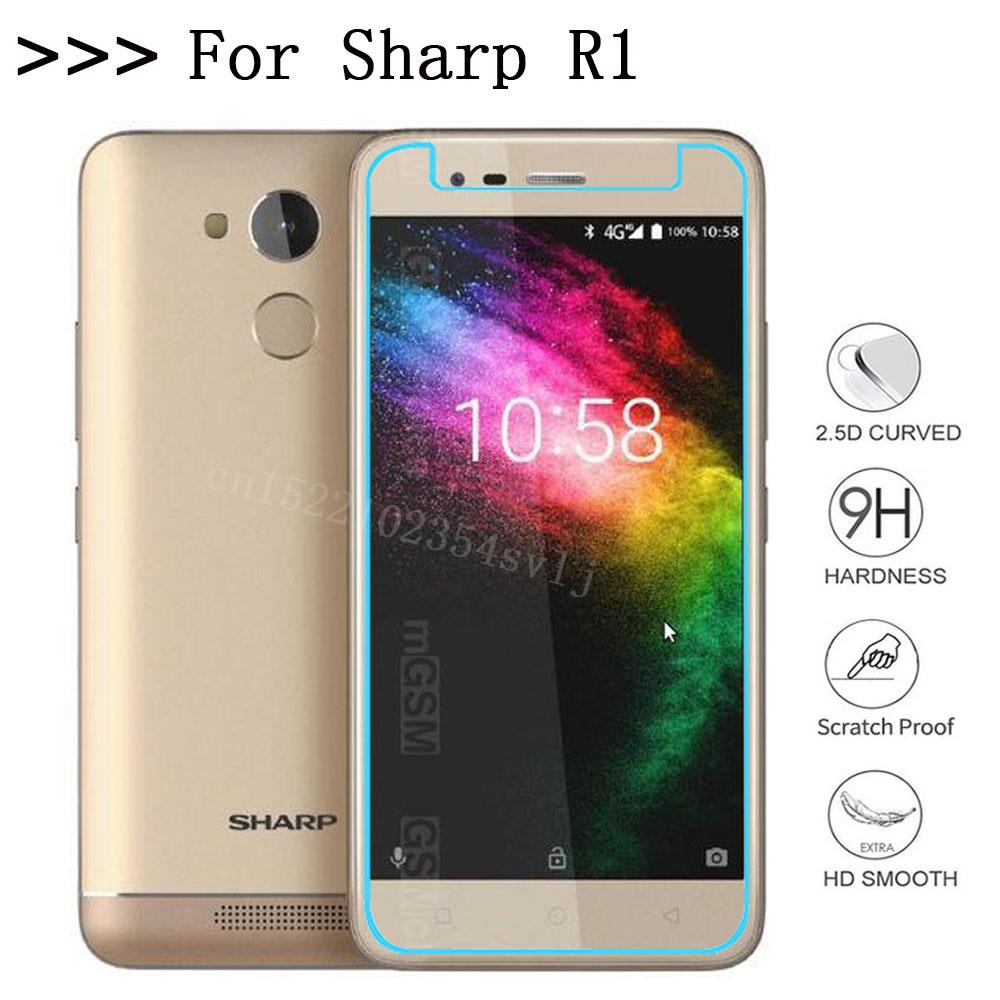 Anti-Scratch Screen Protective Tempered Glass for Sharp r1 R1 Screen Protector Cover Phone Film