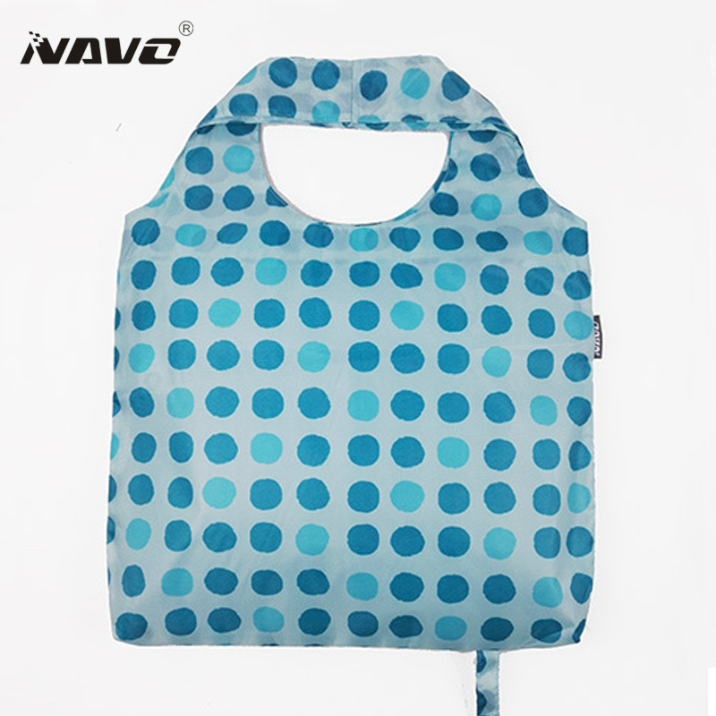 NAVO Polyester Einkaufstasche Faltbare Wiederverwendbare Tasche ...