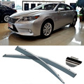 4pcs Blade Side Windows Deflectors Door Sun Visor Shield For LEXUS ES240/ES350 2010-2013