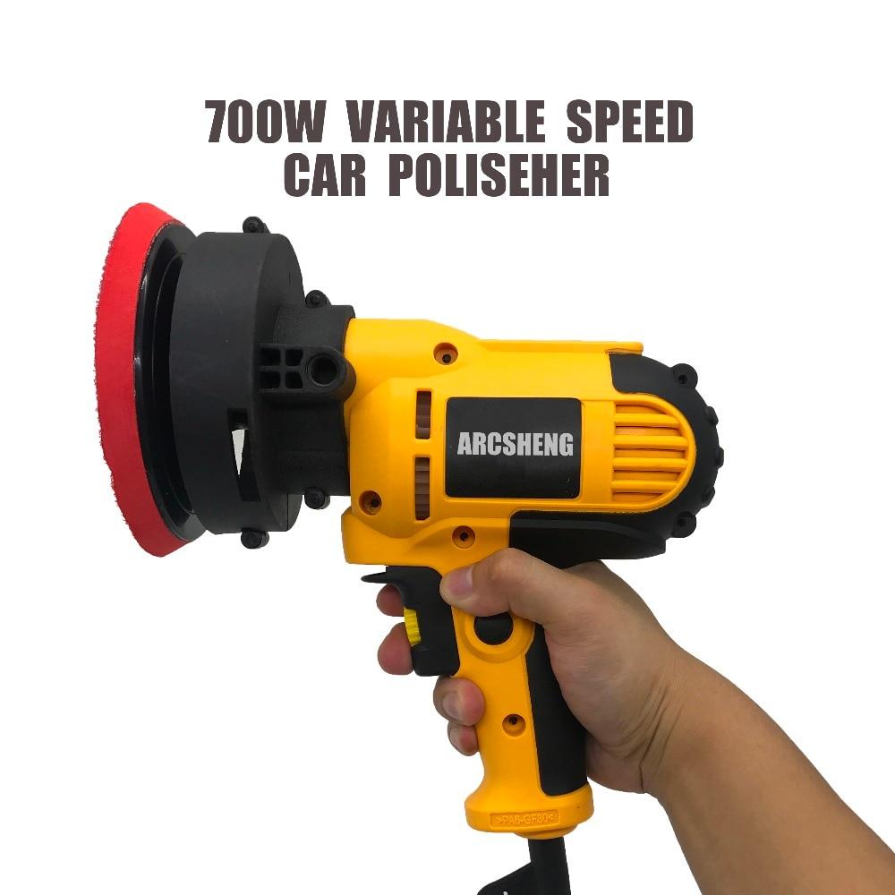 New Car Polisher 220v 700w 600 3700r min Speed Adjustable Electric Car Boat Polishing Waxing Sander