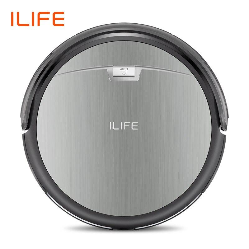 ILIFE A4s Robô Aspirador de Sucção Poderoso para Tapete Fino & Piso Duro Grande Dustbin Miniroom Função de Recarga Automática