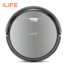 ILIFE A4s Robot Vacuum Cleaner Powerful Suction for Thin Carpet & Hard Floor Large Dustbin Miniroom Function Automatic Recharge(China)
