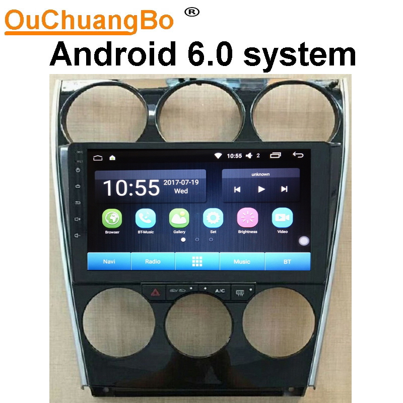 Ouchuangbo Android 60 Car Radio Stereo For Mazda 6 2004 2015 Rhaliexpress: 2004 Mazda 6 Radio No Volume At Gmaili.net