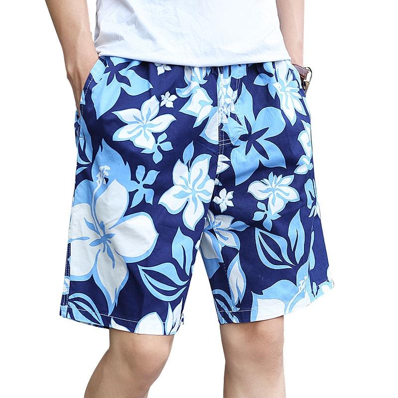 Big Size Men 5XL 6XL Men Shorts Loose Summer Casual Shorts Men Floral Printed Beach Holidays Bermuda Shorts