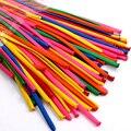 Envío gratis 200 unids/lote color de la mezcla de la fiesta de cumpleaños decoración mágica Ballons Assorted Latex Balloon largo HT437