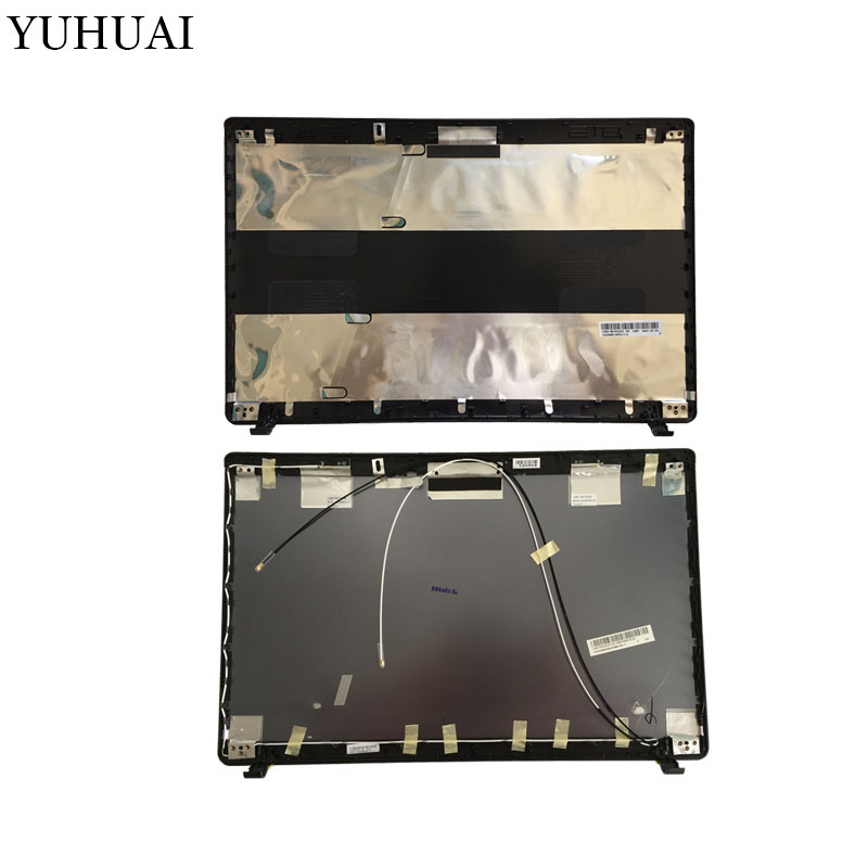 Laptop shell For ASUS K55 K55V K55VD A55V K55A X55 U57A X55A Top LCD Back Cover black/gray A Case laptop shell for asus k55 k55v k55vd a55v k55a x55 u57a x55a top lcd back cover black gray a case