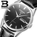 Швейцарские мужские часы люксовый бренд Бингер автоматические механические наручные часы бриллиантовые водонепроницаемые часы из натура...