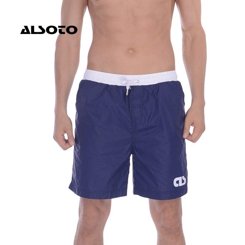 ALSOTO Men   Board     Shorts   Swimwear Men Breathable Men's Swimsuits Trunks Boxer Briefs Sunga SwimSuits Maillot De Bain Beach   Shorts