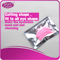 99 Perm Eyelash Patch reusable silicone perming rods pink plastic 3 different sizes