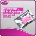 99 Perm Pestana Remendo perming hastes de silicone reutilizável de plástico rosa 3 tamanhos diferentes