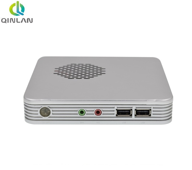 Aluminum Alloy Case Mini PC with Intel Celeron 1037U Support HDMI VGA USB Mini computer