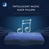 Promote Side Sleeper Pillows Orthopedic Comfort Memory Foam Sleeping APP Smart Music Pillow