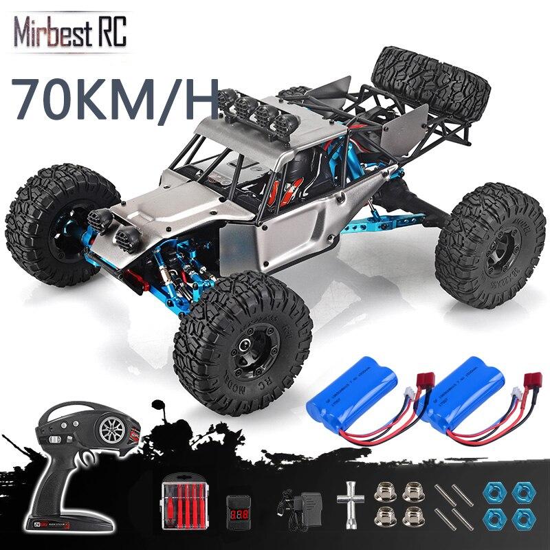 RC Car feiyue fy 03H RTR 2.4g 4WD 4 channel 4x4 70km/h RC car desert truck brushless metal upgrade PK WLtoys 12428 12423-in RC Cars from Toys & Hobbies
