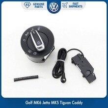 New Chrome Switch Auto Headlight Sensor for Volkswagen VW Golf MK6 Jetta MK5 Tiguan Caddy 5ND 941 431 B