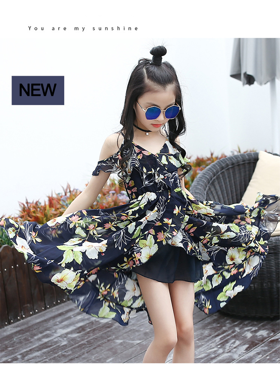 HTB1UJ28bDTI8KJjSsphq6AFppXa1 - Girls Dress Bohemia Style Dresses Girls Sleeveless Floral Dress For Adolescents 8 10 12 Big Kids Girls Clothes