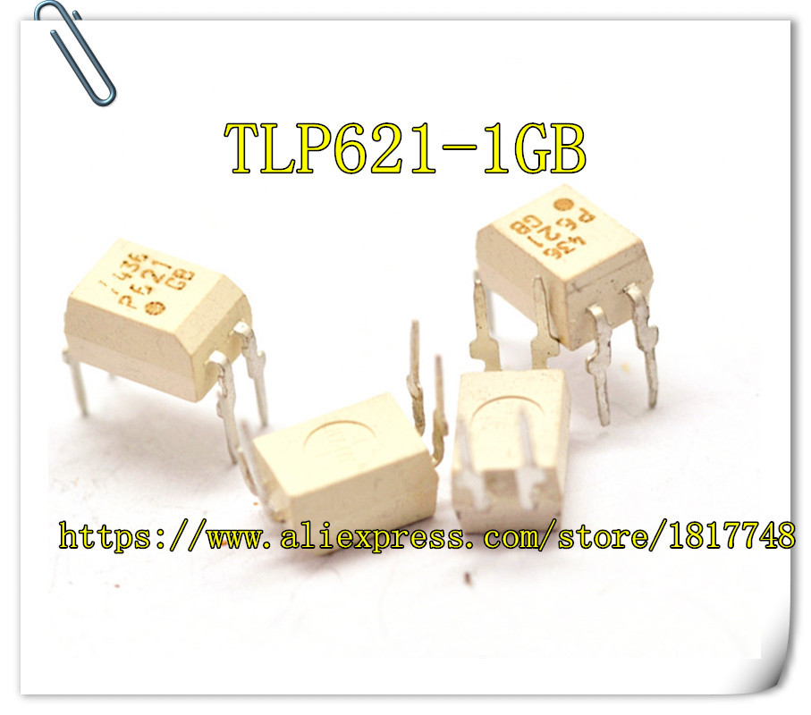 Free Shipping 50pcs/lot  TLP621 TLP621(GB.F) TLP621GB TLP621-1 TLP621-1G P621 DIP-4   New Original Optocoupler
