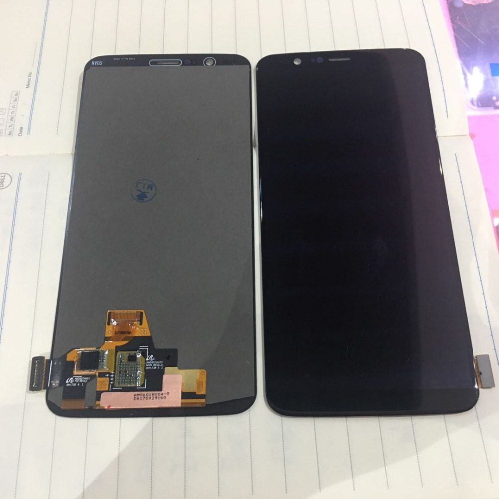100 Original Warranty LCD Display Touch Screen Digitizer Assembly For Oneplus 5T 1 5T A5010 Best