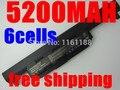 5200MAH laptop battery for asus A32 K55 A33-K55 A41-K55 A45 A55 A75 K45 K55 K75 X45 X55 X75 R400 R500 R700 U57 Series