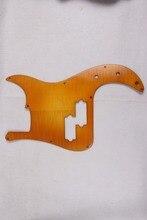 Ahornholz Elektrische P-Bass GITARRE Pickguard gitarre teile Präzision Yelow #1834