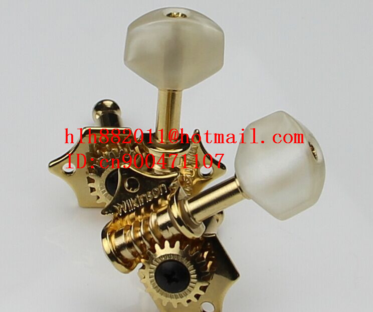 цены  free shipping new acoustic guitar tuning peg  guitar button in gold  WJ-28  N17-1