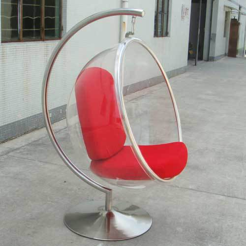 Cool Booth Bubble Chair Lifts Transpa Acrylic Ball Hanging Lounge Rocking