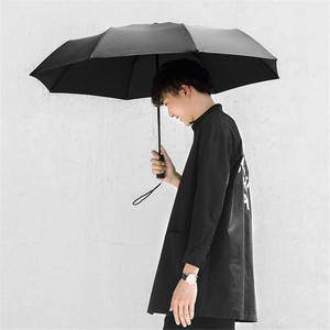 Image 2 - Xiaomi Mijia Automatic Sunny Rainy Bumbershoot Aluminum Windproof Waterproof UV Parasol Man Woman Summer Winter Sunshade