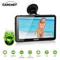 CARCHET Автомобильный GPS Навигации 7 дюймов HD 1080 P 512 МБ RAM 8 ГБ 2.4 WIFI DVR с Тире Камерой с Сенсорным Экраном FM GPS Android Карта Европы
