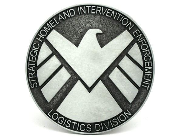 Marvel Comics Agents Of Shield Belt Buckle Infinitefan
