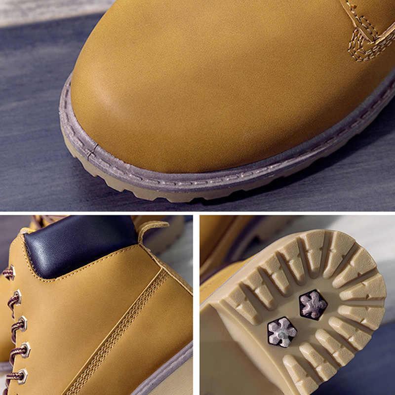 Quanzixuan Nữ Giày Nữ Thu Đông Cổ Chân Giày Bốt Thời Trang Nữ Ủng Cho Bé Gái Công Sở Nữ Giày Nữ Plus Kích Thước 36-41