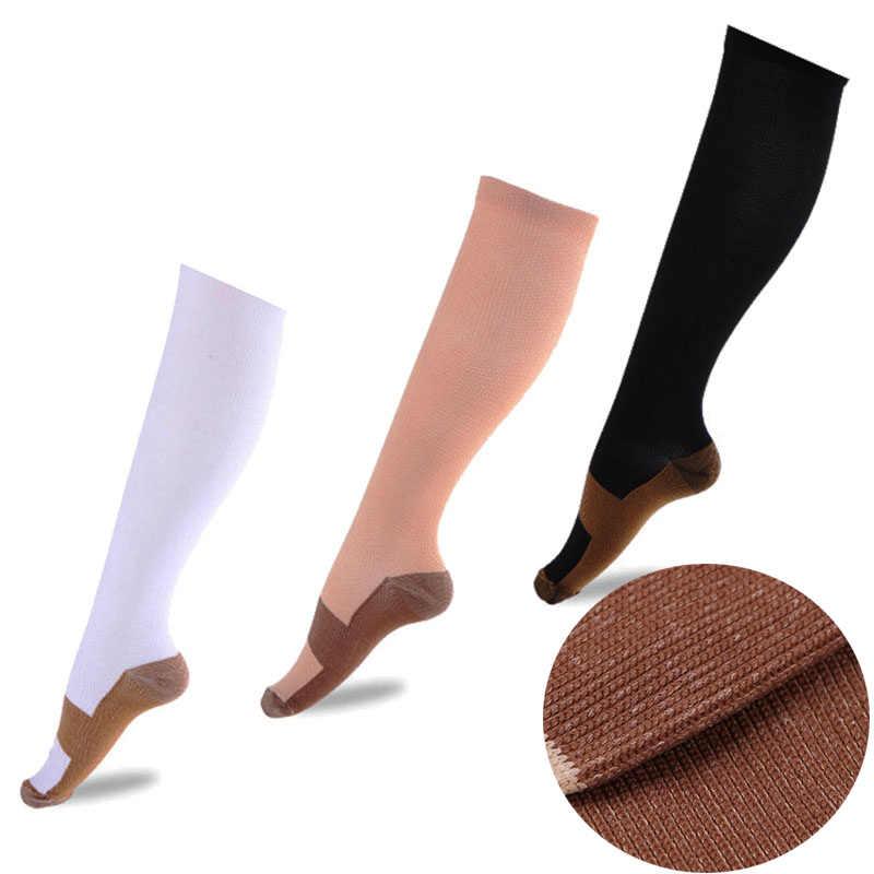 162fc53201b59 Женские, мужские, анти-варикозное компрессионные чулки, вязаные чулки,  тонкие ножки,
