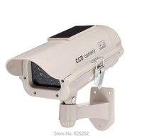 Solar Power Dummy IR Camera Fake Security Camera Outdoor Waterproof Style