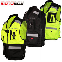 New MOTOBOY Reflective clothing Motocross Motorcycle Rididng cloth Vest Moto Racing suits jacket Night can Reflective