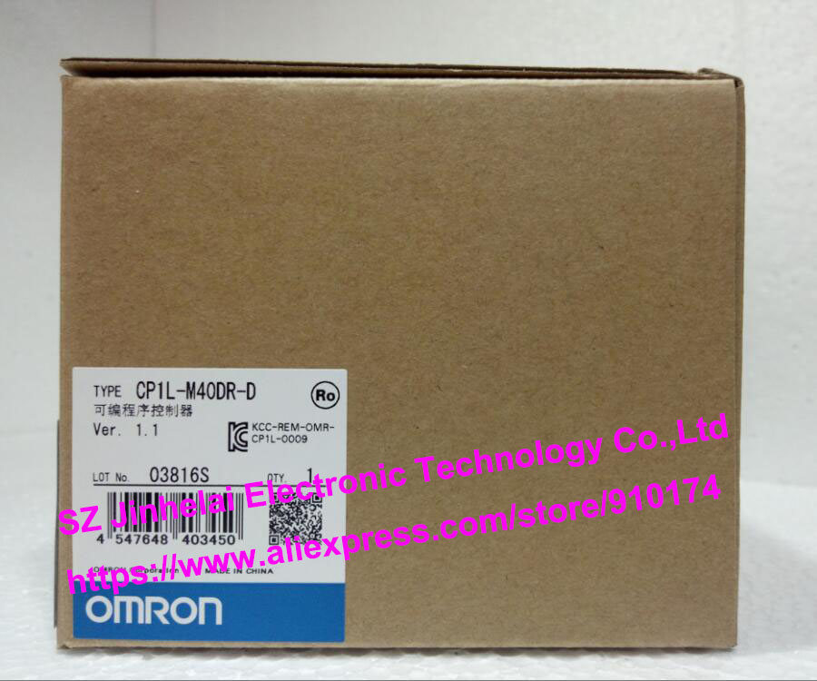 100% New and original  CP1L-M40DR-D  OMRON PLC CONTROLLER [zob] 100% new original omron omron proximity switch e2e x10d1 n 2m