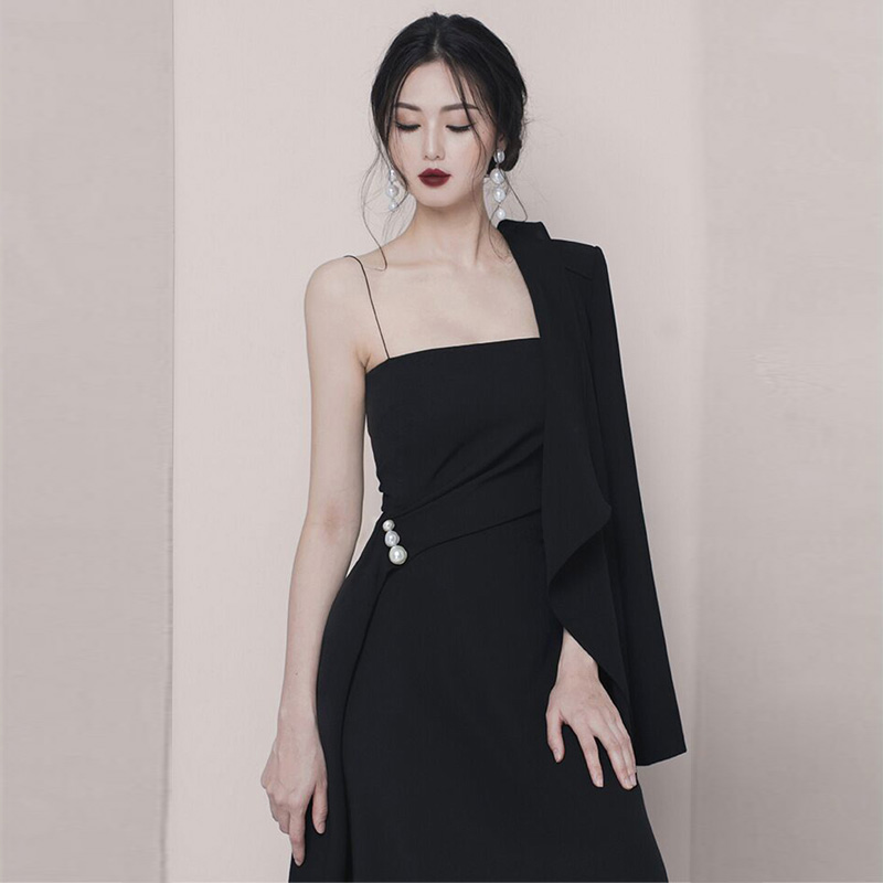 2018 New Model Fashion Spaghetti Strap Women Dress Summer Casual