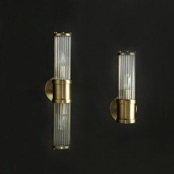 Lampe De Mur LED Moderne En Cristal Lampe De Chevet De Salon Lampe De Fond D'allée Lampe Murale Nordique Lumière De Luxe LED Lampe Murale Décorative
