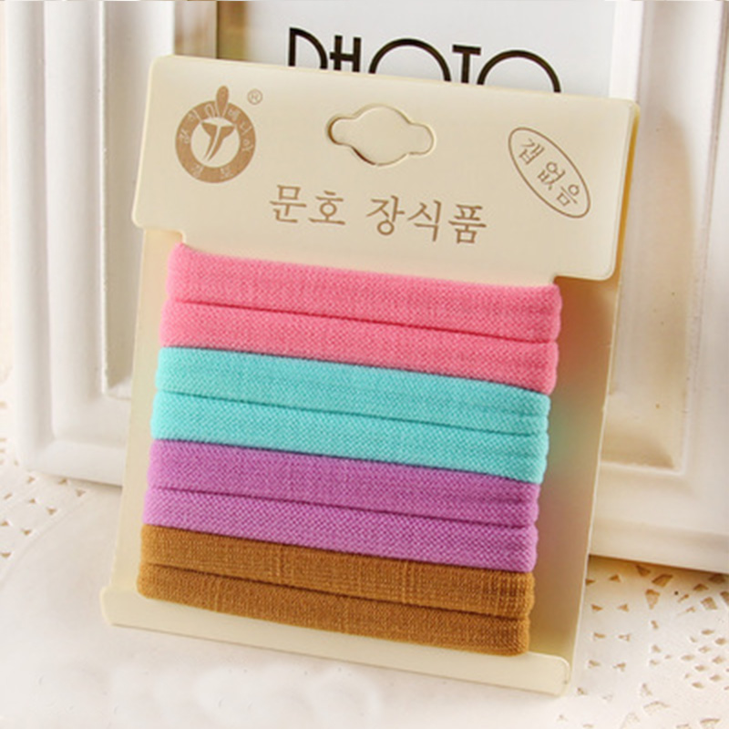 1 Pack Hohe Qualität Baumwolle Feste Elastische Haarband Stirnband - Bekleidungszubehör - Foto 5