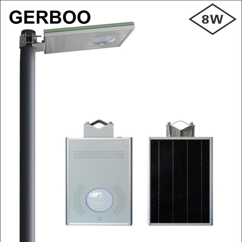 Светодиодный солнечный свет уличный датчик движения на солнечных батареях Светодиодный светильник на мачте настенный уличная дорожка солнечный свет для сада