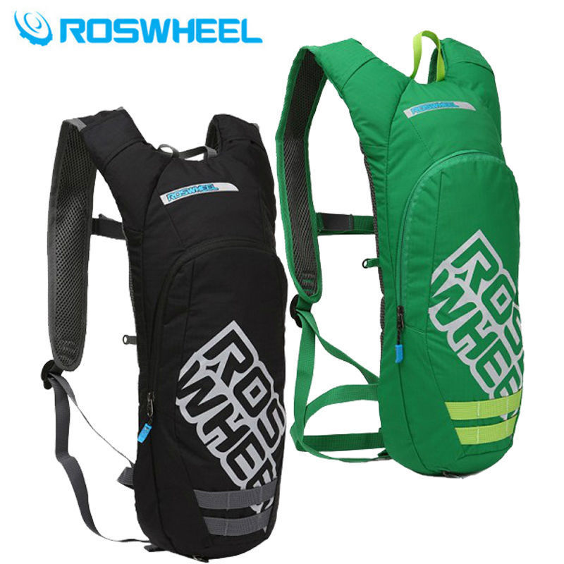ROSWHEEL 2.5L Bike Cycling Rucksack Backpack Hydration Pack Water Bladder Bag roswheel 22l ultralight cycling mountain bike bag hydration pack water backpack reflective bicycle bike hiking climbing pouch
