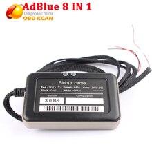 Ablue 8 в 1 v3.0 с датчиком Nox ADBLUE Эмулятор 8в1 с для Volvo и других 7 видов брендовых автомобилей AdBlue Эмулятор 8 в 1