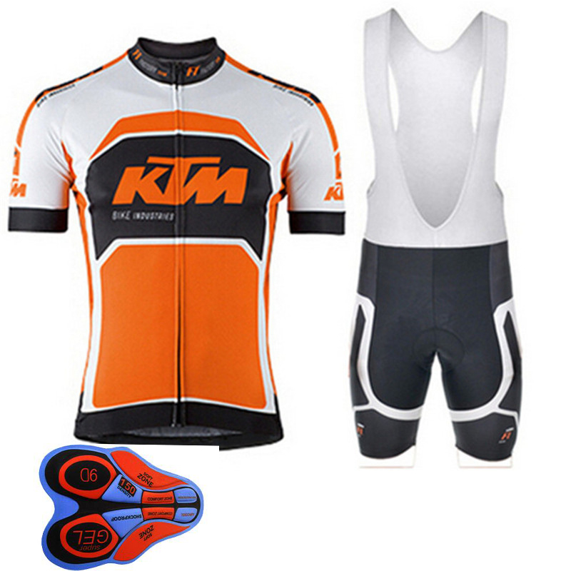 Pro KTM Team Cycling Jersey Short Sleeve MTB Summer Breathable Bike Clothing Bicycle Maillot Ciclismo hombre Sportwear F0703  breathable cycling jersey summer mtb ciclismo clothing bicycle short maillot sportwear spring bike bisiklet clothes ciclismo