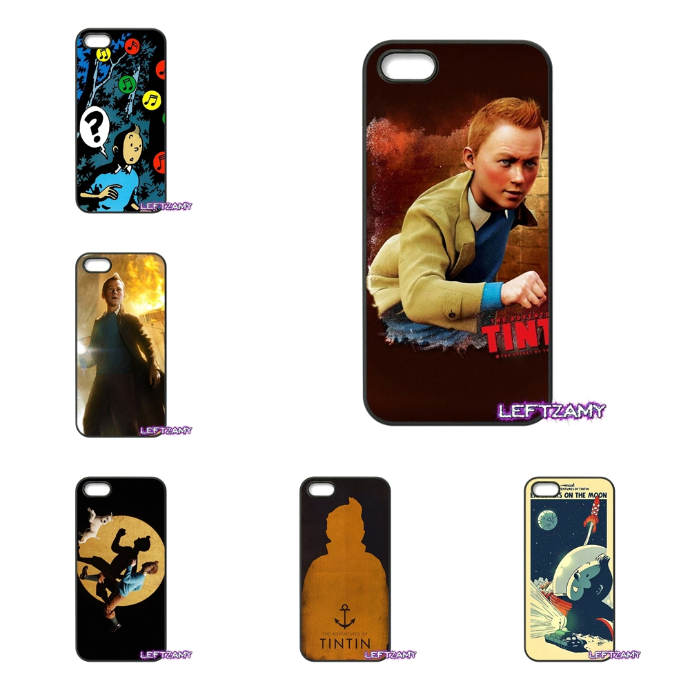 The Adventures of Tintins Hard Phone Case Cover For iPhone 4 4S 5 5C SE 6 6S 7 8 Plus X 4.7 5.5 iPod Touch 4 5 6