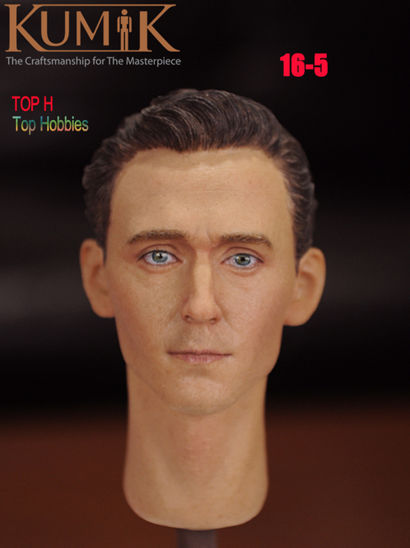 1/6 Head Male/Man Model Sculpt Hot KUMIK 16-5 Hot Sideshow Toys TTL Enterbay Custom HT Body Fit 12 Inch Phicen Action Figure b06 08 1 6 scale male head accessories carving sculpt model fit 12 inch phicen action figure doll toys