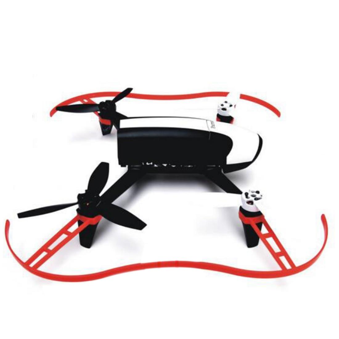 SNOWINSPRING Drone Bumper Elica Puntelli Protector Ring per Parrot Bebop 2.0 Rosso