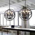 Лофт американский стиль ретро скандинавский винтажный подвесной светильник Железный промышленный подвесной светильник для гостиной стол...