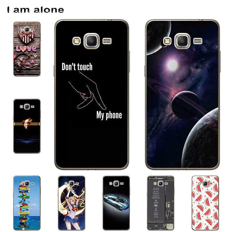 Чехлы для телефонов I am alone Samsung Galaxy On7 G600 5 дюймов жесткие пластиковые чехлы