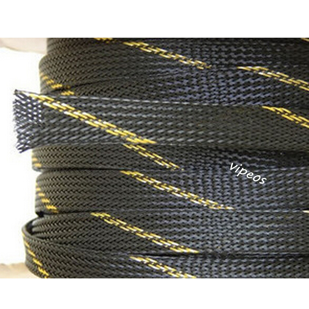 braided wire loom promotion shop for promotional braided wire loom 10meter braided cable 10 20mm wiring harness loom protection sleeving black for diy cable