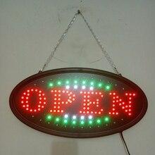 Продаж в storesOpen signsLED свет борту огни Рекламы Световой короб Световой слова Приветствия света знаки