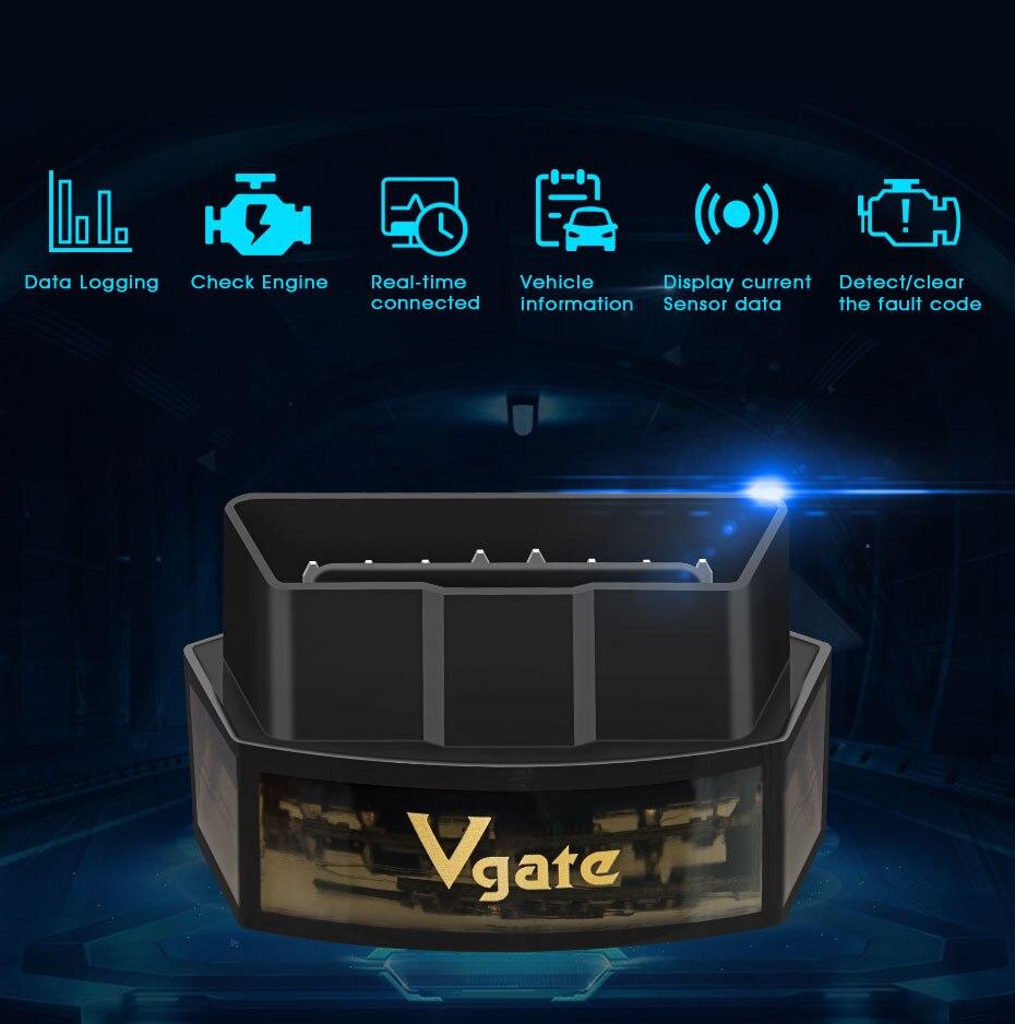 HTB1UJ6OXQCy2eVjSZPfq6zdgpXaV Vgate iCar Pro ELM 327 Bluetooth/WIFI OBD2 Scanner car diagnostics elm327 2.1 obd 2 obd2 Diagnostic Tool scan tool pro odb2 Hot