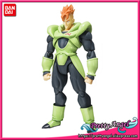 PrettyAngel Genuine Bandai Tamashii Nations S.H.Figuarts Dragon Ball Z Android 16 Action Figure